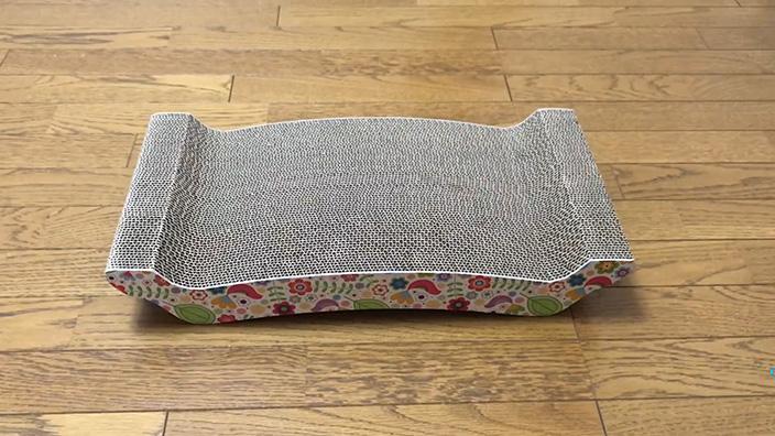 猫壱 バリバリ ベッド L|ねこぞーのレビュー・評価・口コミ・おすすめポイント