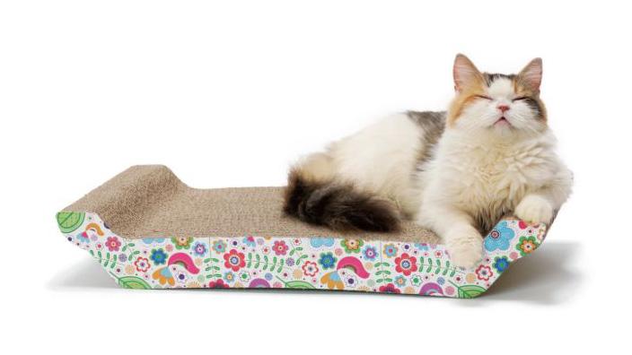 猫壱 バリバリ ベッド L|製品の基本情報