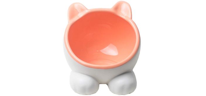 10位 【VIVIPET】猫 皿 給水 水やり 陶器 全5色