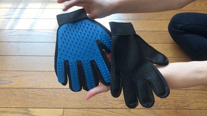 【グルーミンググローブレビュー】手袋をつけて優しくなでるだけでグルーミングできる便利なアイテム【口コミ・感想・評価】