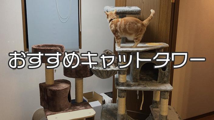【愛猫家イチオシ】キャットタワーおすすめ14選|キャットタワーの必要性から選び方まで詳しく解説!