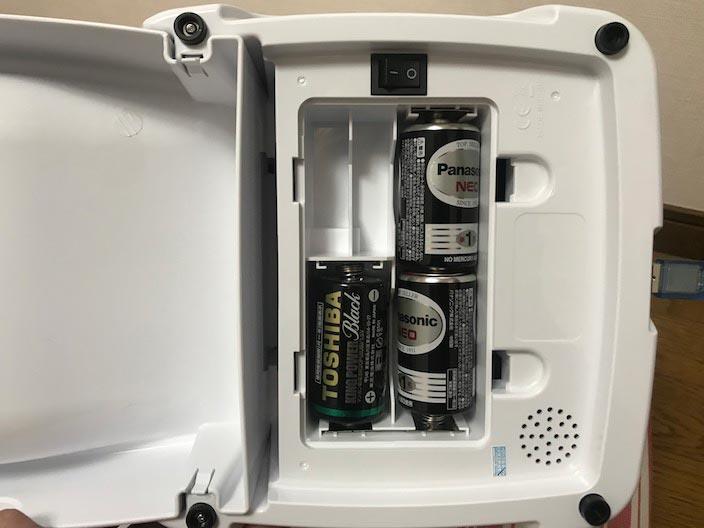Iseebiz_単一電池を入ている写真
