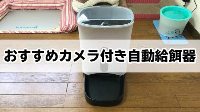 【2019年最新版】カメラ付き自動給餌器おすすめ5選|スマホから遠隔操作で猫の無事を確認!