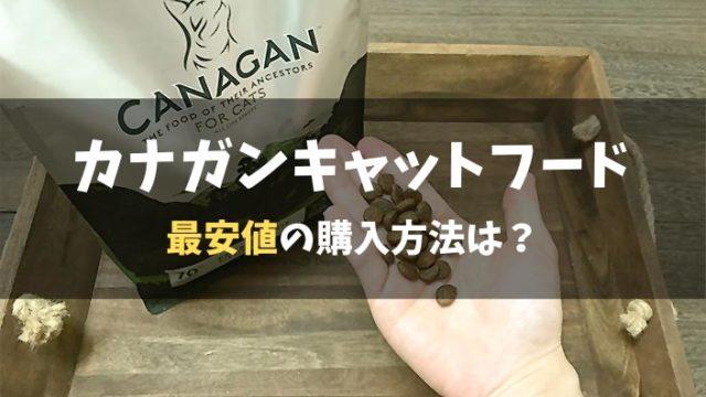 【カナガンキャットフード】一番お得な購入方法はどれ?|100円モニター・半額キャンペーン・Amazon・メルカリ・楽天と比較調査した結果